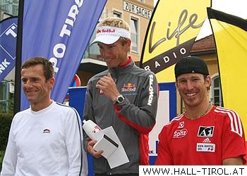 Die Sieger: Markus Zahlbruckner, Markus Kröll und Christoph Bieler